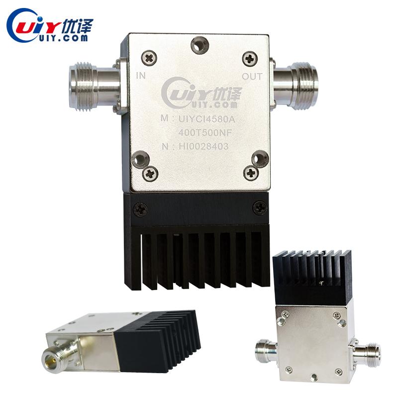 UIY 2501500MHz 300W250W High Power RF Coaxial Isolator