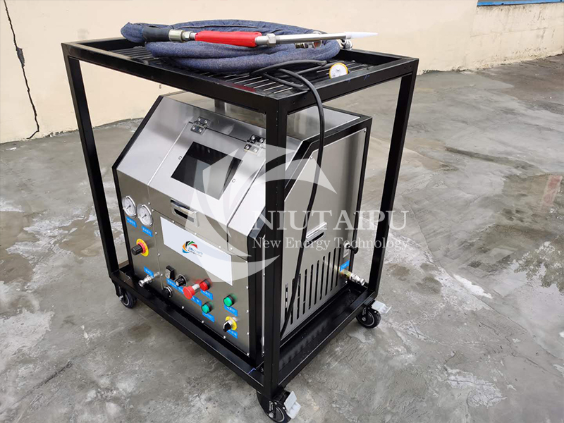 NTPCC400 Small Automatic dry ice blast cleaning machine dry ice machine