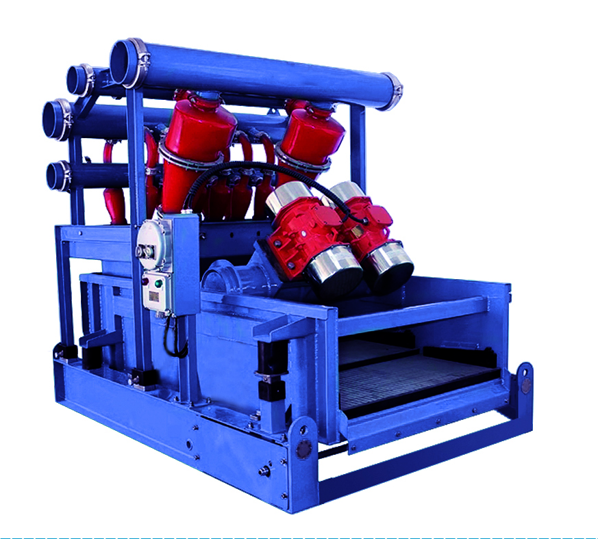 BZ Hydrocyclone Mud Cleaner of separation drilling fluid