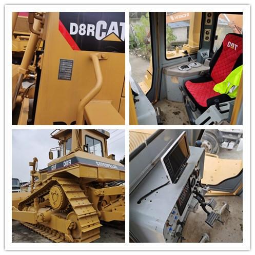 Used CATERPILLAR D8R crawler bulldozer on sale