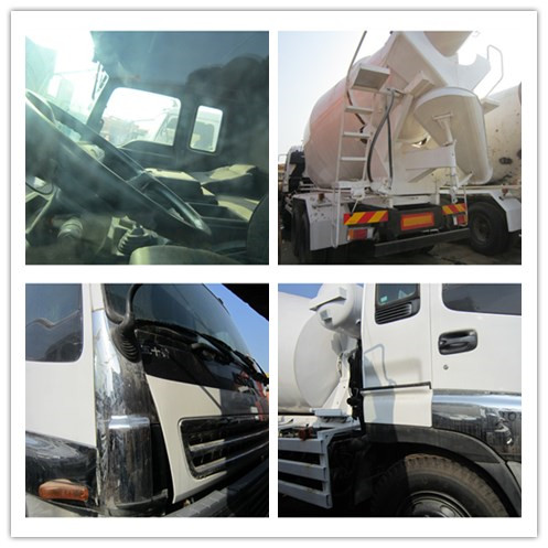 Used Concrete Mixer ISUZU Diesel Concrete Mixer Truck for sale