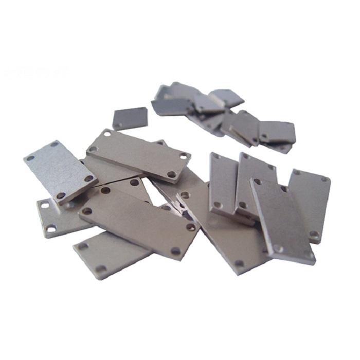 CuW75 Customized Tungsten Copper Alloy Heat Sinks WCu Spreader For LED Industry