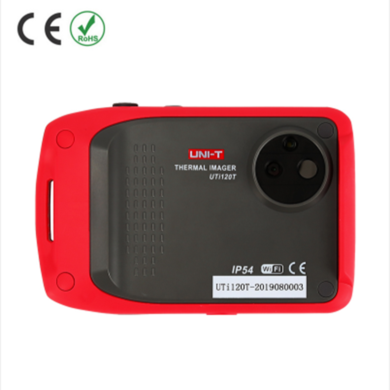 uni t pocket thermal Imager camera lcd touchscreen wifi connect