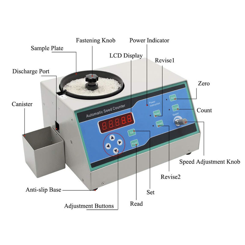 Laboratory Automatic Seed Counter