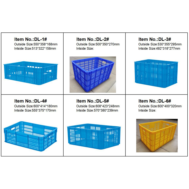 Factory Direct Plastic Moving Crate Box