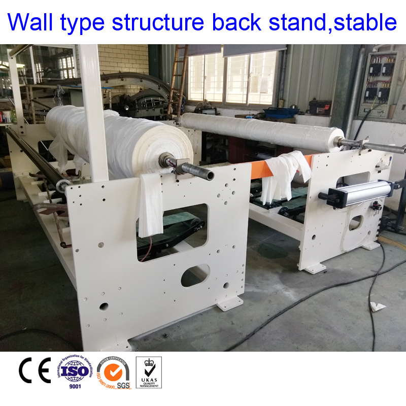 Hot sale top quality embossing rewinding toilet paper roll making machine small toilet paper making machine