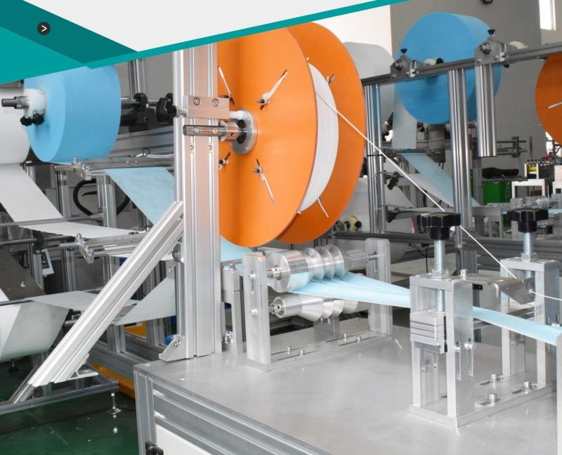 Latest model automatic face mask machine with high capacity