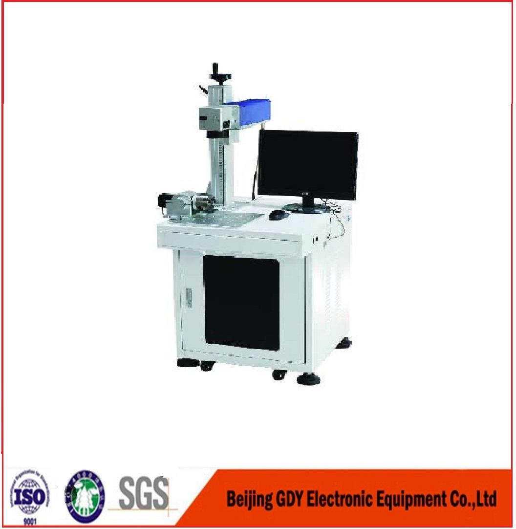 20W 30W 50W Fiber Laser Marking Machine for Metal Nameplate