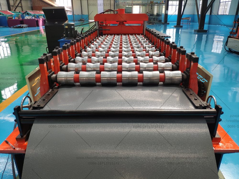 New type Mectoppo roof tile roll forming machine