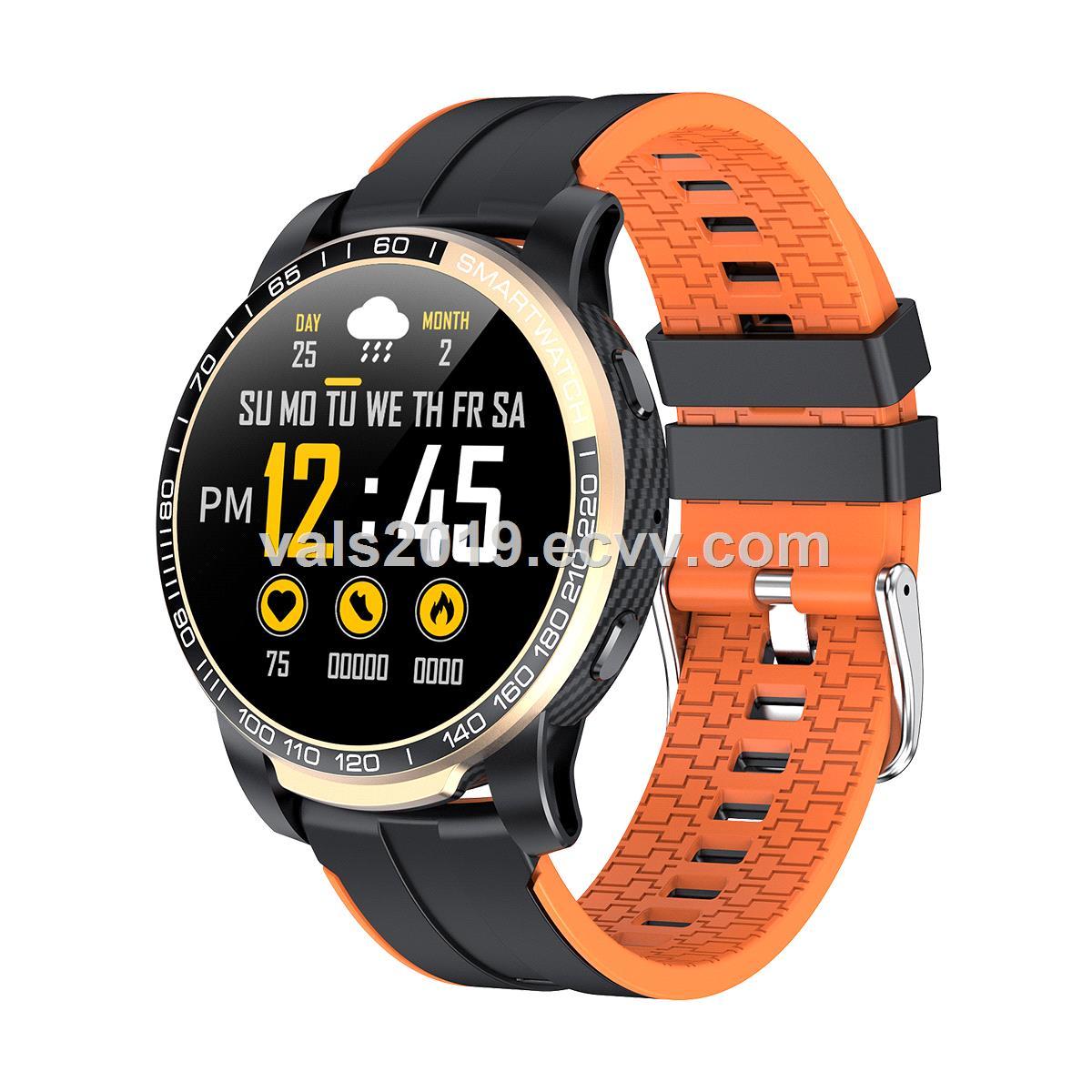 new smartwatchHeart rate ECGBlood pressureblood oxygenpedometerAlipayStop watchBluetooth smartwatch