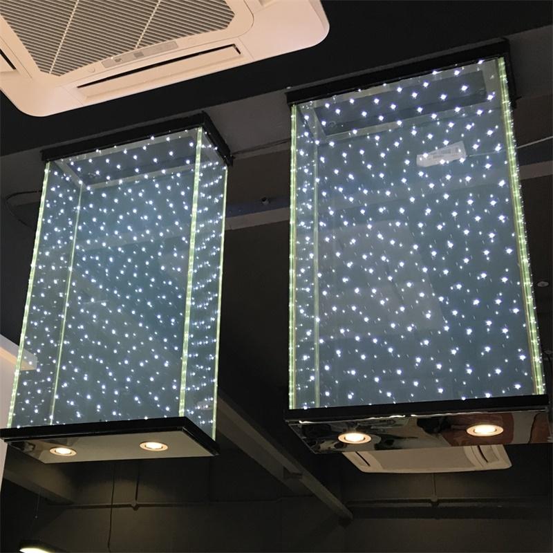 4mm152PVB4mm clear LED glass for blue light