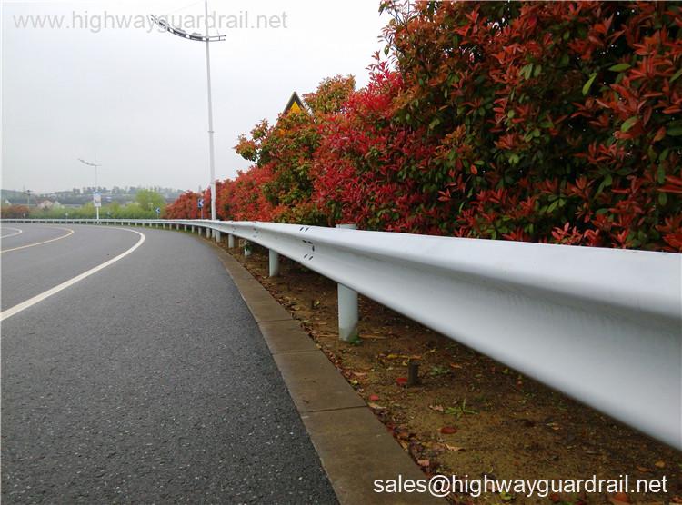 Armco Flex Beam Guardrail for Motorway Use