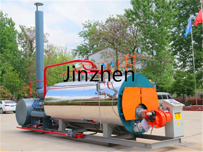 Fuel Gas Oil Dual Fuel Packaged Steam Boiler with European Burner