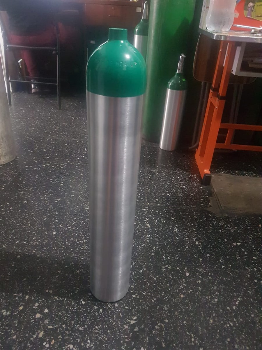 High Pressure 4L 6L 8L Medical Aluminum Oxygen Cylinder