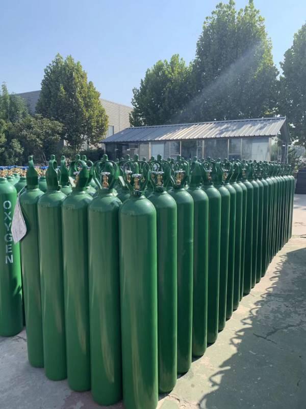 Medical Oxygen Cylinder Seamless Steel Gas Cylinders
