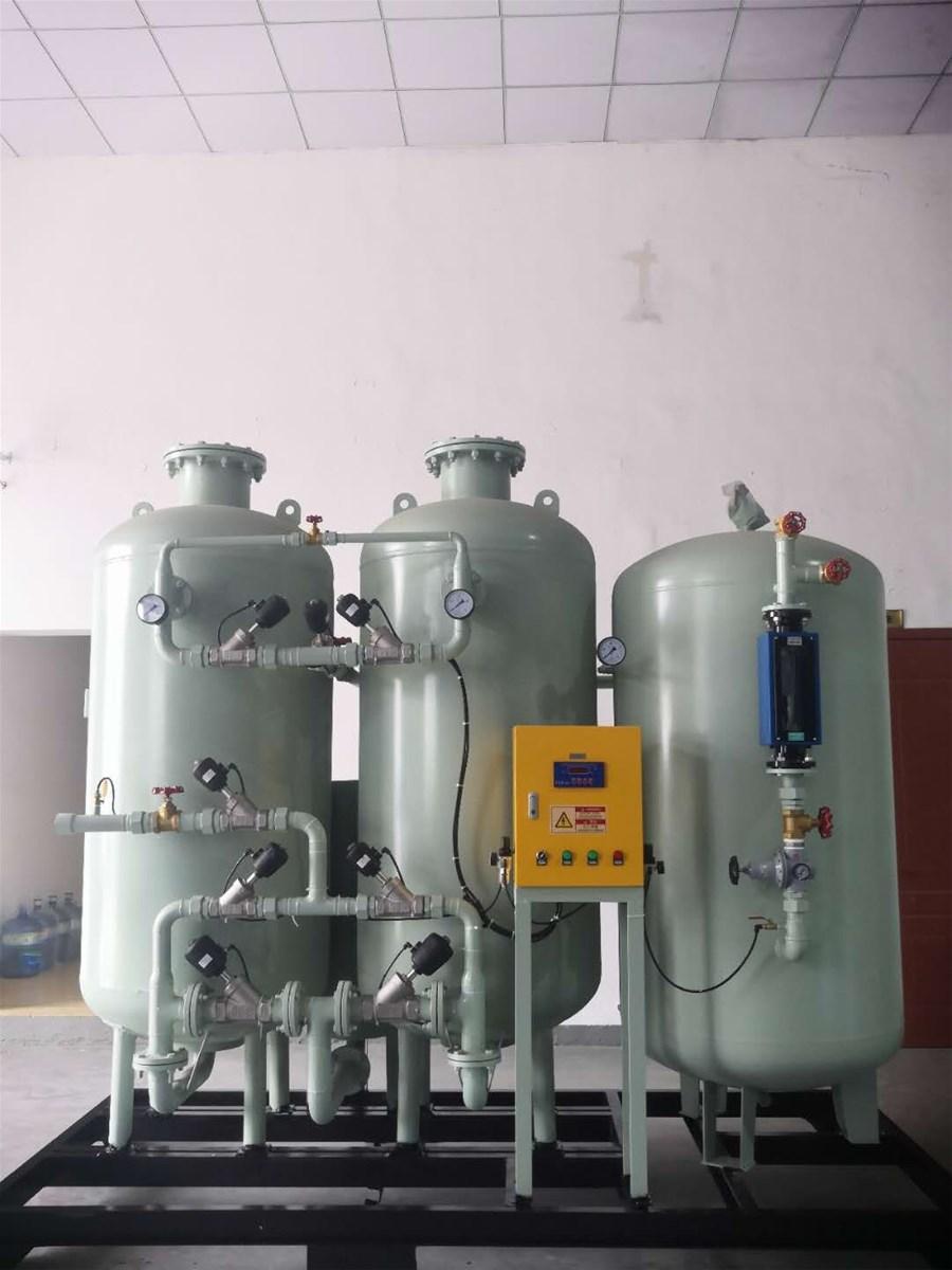 PSA Oxygen Generator 50N m3h 200 Bar For Filling 5 Cylinders Per Hour For Medical Application