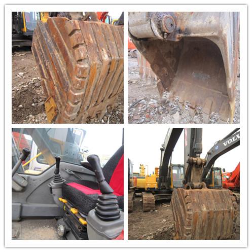 Used VOLVO EC210BLC crawler excavator on sale