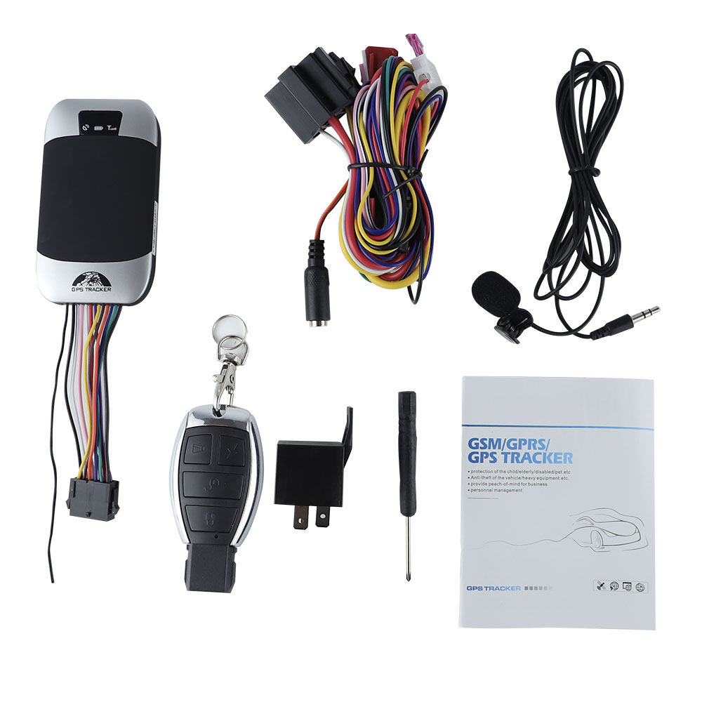 Real Time Tracking Waterproof 3G GPS Tracker for Car ACC ignition Detection Function with Fuel Sensor