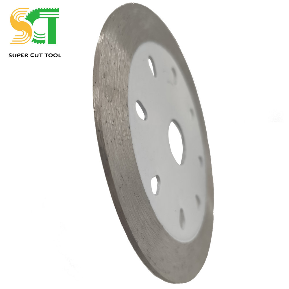 225mm AntiFatigue Strength Diamond Saw Blade Russia For Hand Cutter Diamond Disc Uses For Stone Edge Cutting