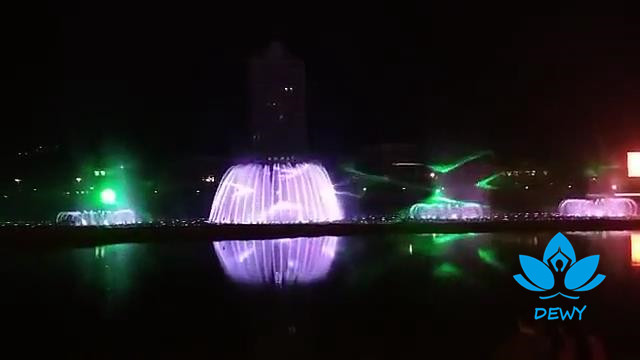2020 new design music dancing fountain garden decoration