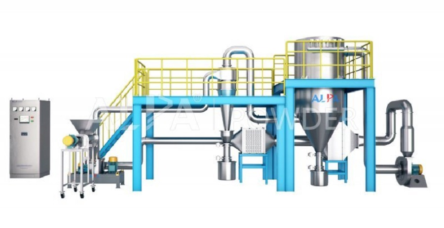 Activated Carbon Micron Powder Size Reduction Equipment Air Classifier Mill Cost