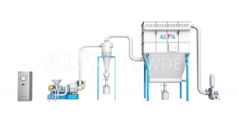 Inorganic Salts Super Air Classifier Mill Machine
