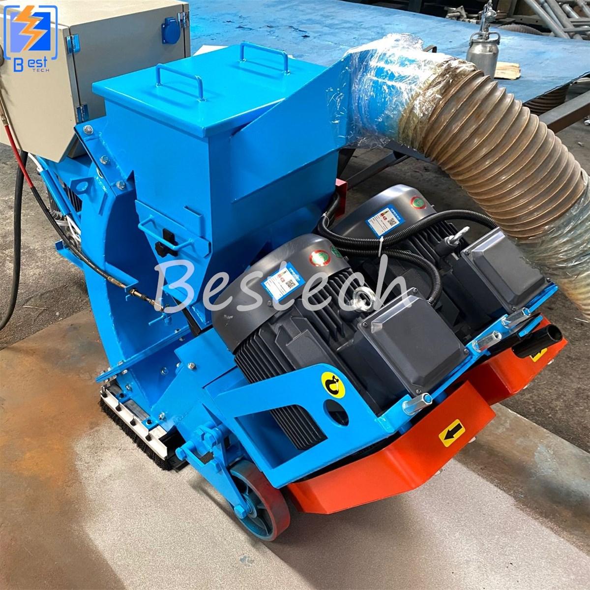 Movable Steel Plate Shot Blasting Machine