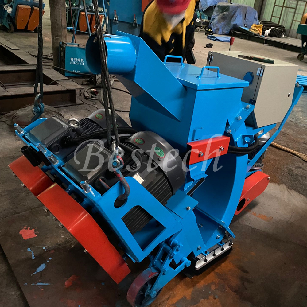 Floor Surface Cleaning Shot Blasting Machine