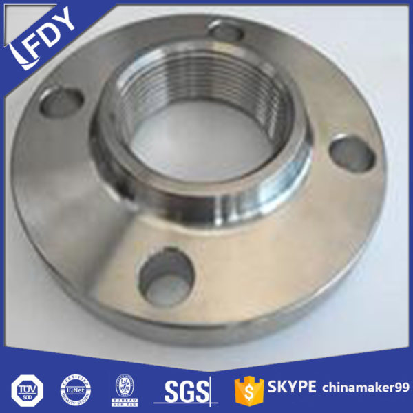 Hubbed threaded flange Stainless Steel Flange