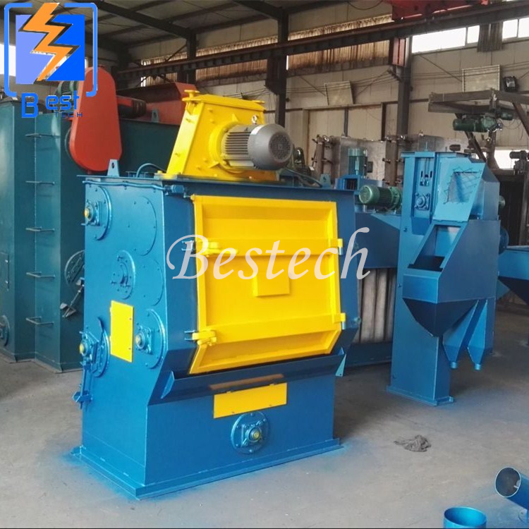Manufacturer Tumble Rubber Belt Automatic Shot Blasting Machine