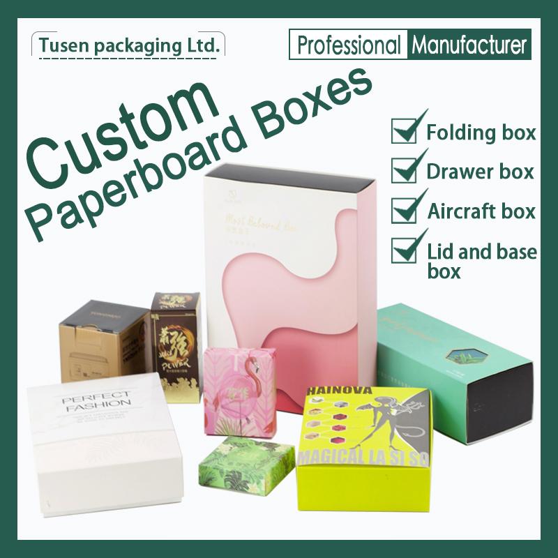 OEM Paperboard Boxes Printed Cardboard Paper Boxes