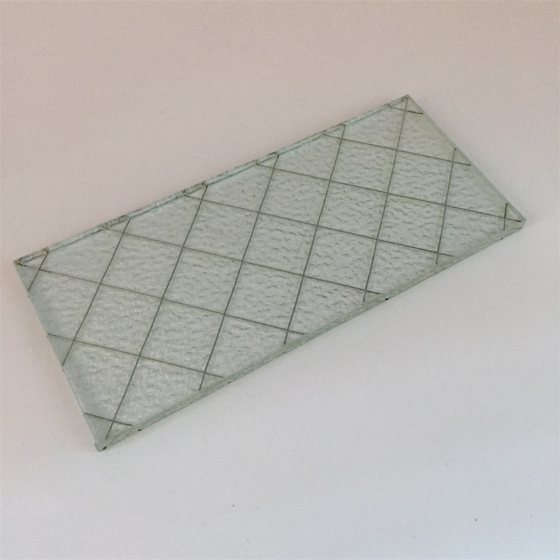 6mm clear wired glass for window