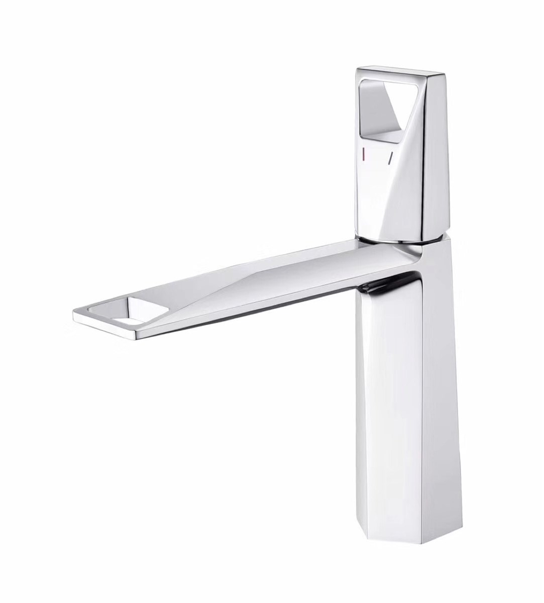 2020 new design brass hot and cold basin mixer faucet chrome finish