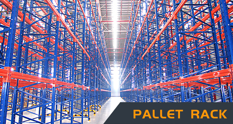 Factory Direct Warehouse Racking Industrial Pallet Shelving Heavy Duty Pallet Storage Rack