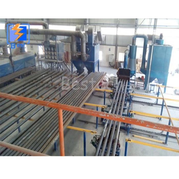 shot blasting machine for internal steel pipes