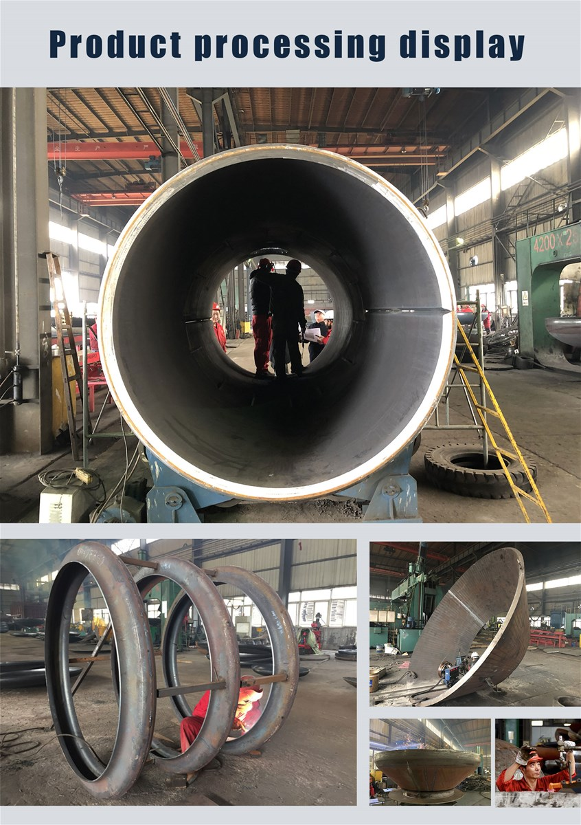 GLM Stainless Steel Conical Head with Stamping Technology