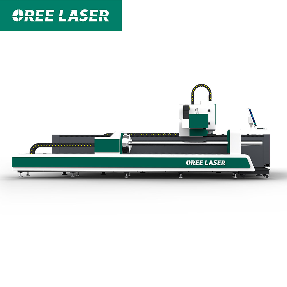 ORFT CNC sheet metal and tube Fiber Laser Cutting machine price Japan Yaskawa servo motor