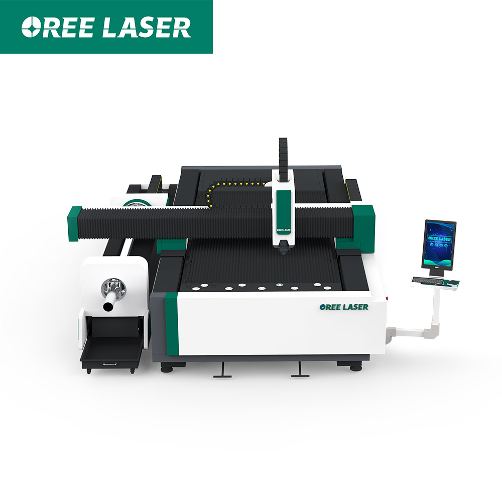 cnc ORFT 3015 metal sheet 6m tube dualusing fiber laser cutting machine
