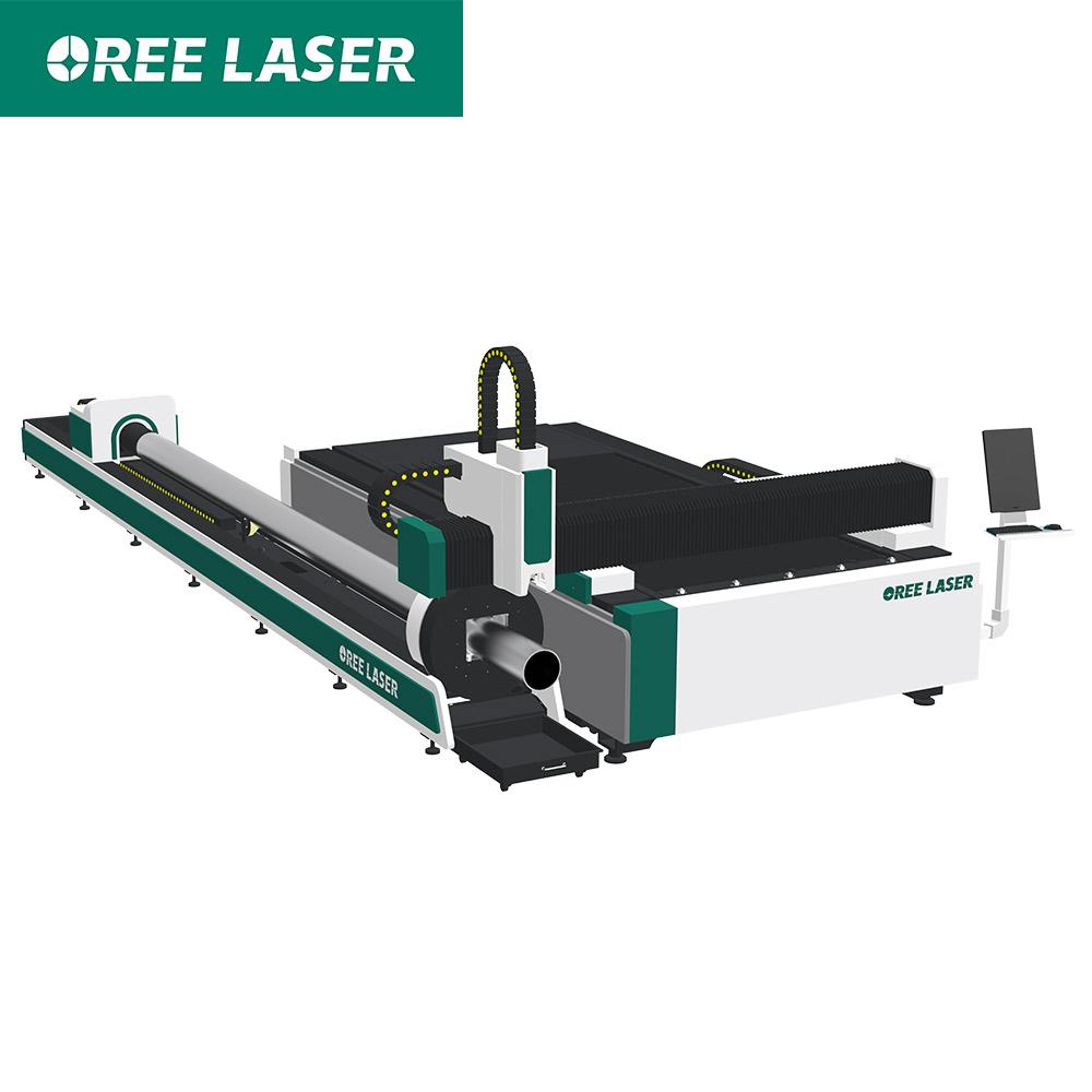 ORFT CNC sheet metal and tube Fiber Laser Cutting machine price Japan Yaskawa servo motor