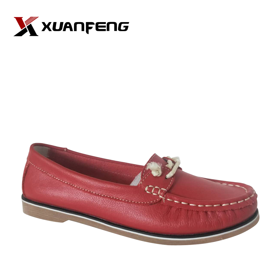 Women leather sandals exporter from China