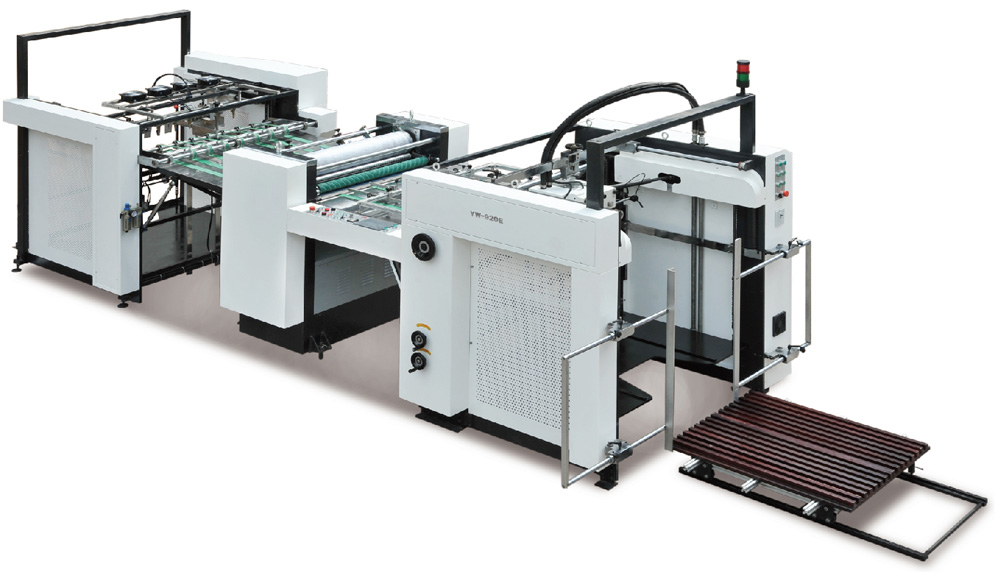 Automatic Paper Embossing Machine Model YWE series