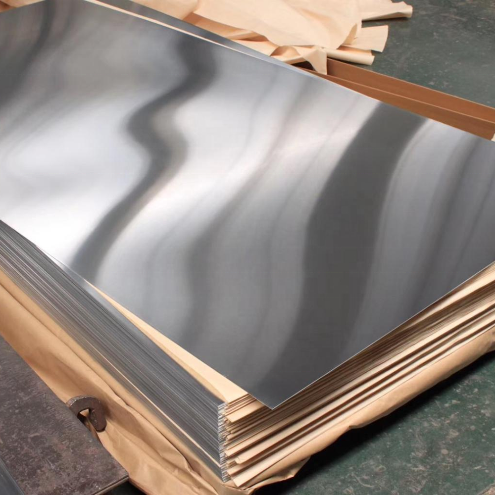 Mill finish polished plain aluminiumaluminum alloy sheet
