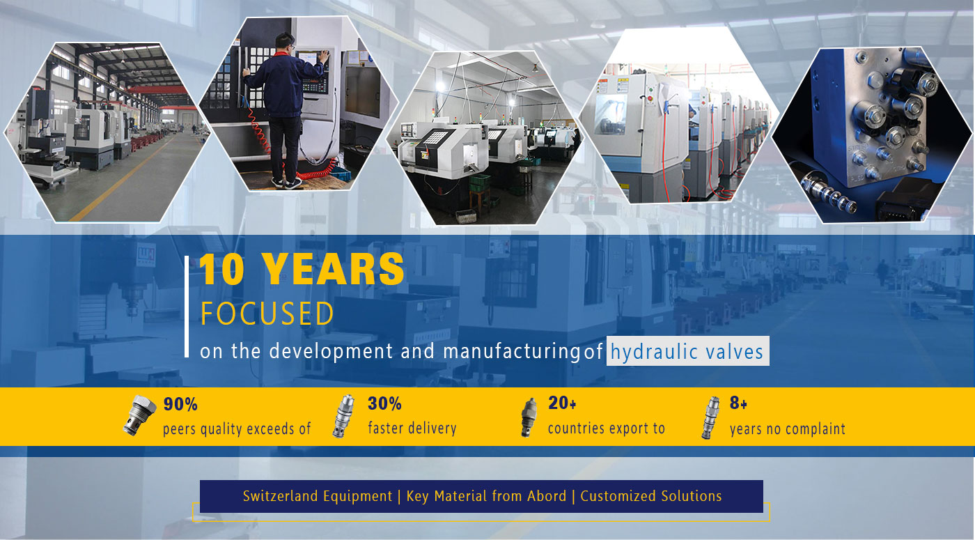 The quality of sun series hydraulic valve produced by AAK is comparable to that of sun hydraulic valve produced in the U