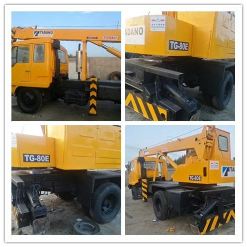 Used TANAD TG80E 8ton truck crane