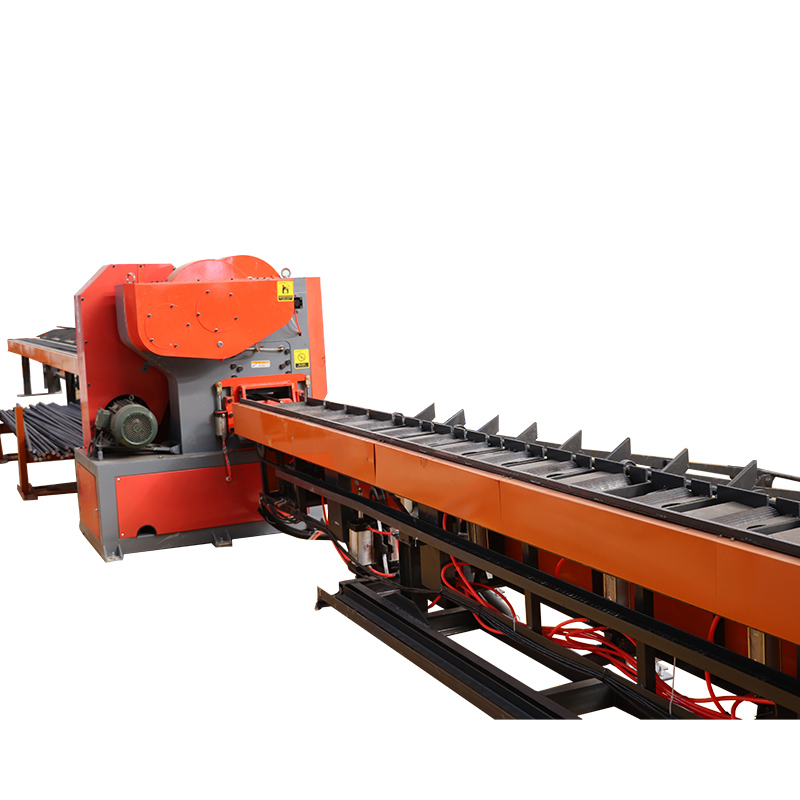 Steel cutting system cutting machine line