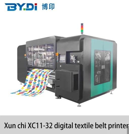 High Speed Large Format Digital Textile Printer Machine With 32 Ricoh Printhead
