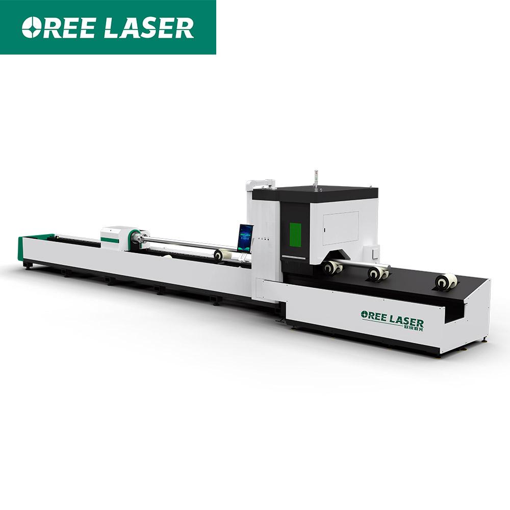 Factory Price 2000W Metal tube stainless Steel Pipe Fiber Laser Cutting Machine
