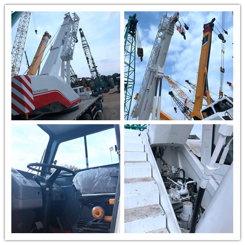 Used ZOOMLION QY50V 50ton truck crane on sale