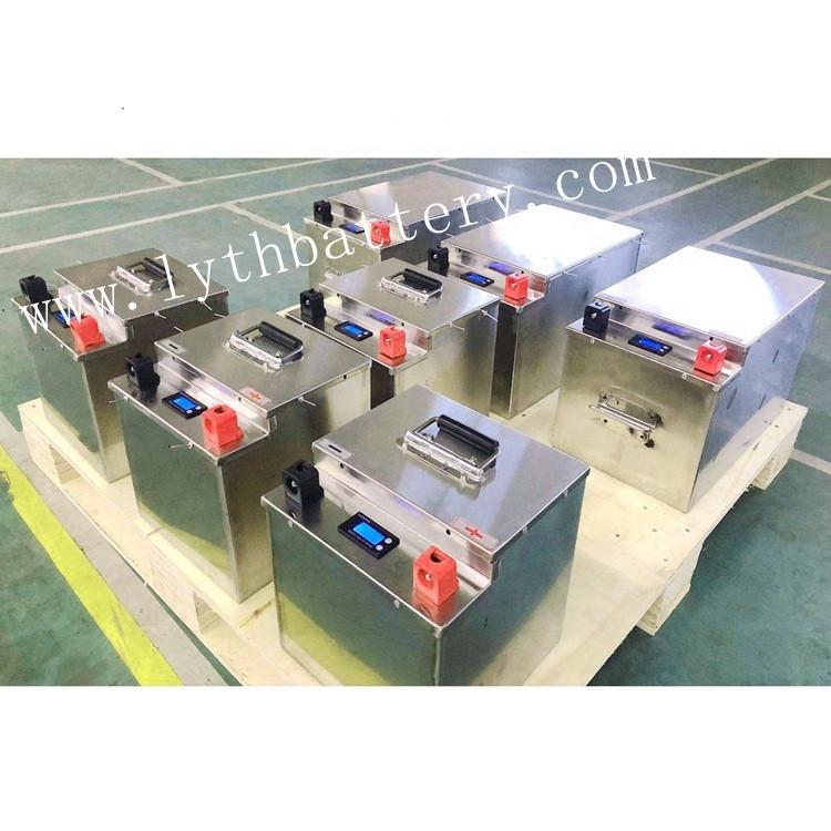 12V 24V 48v 100ah 200ah 400ah Lithium ion Batteries Lifepo4 Battery Pack with BMS
