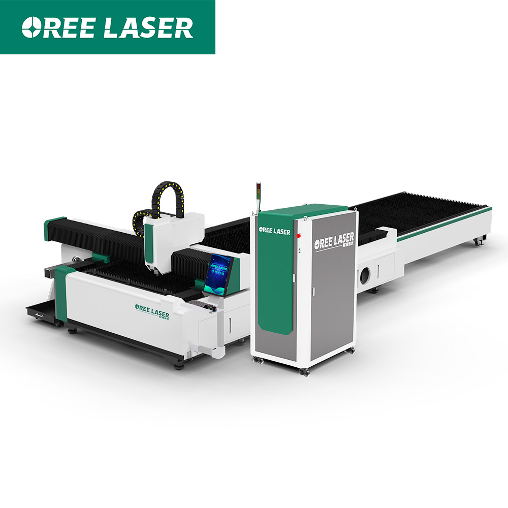 Exchange Table Sheet Tube Fiber Laser Cutting Machine ORET